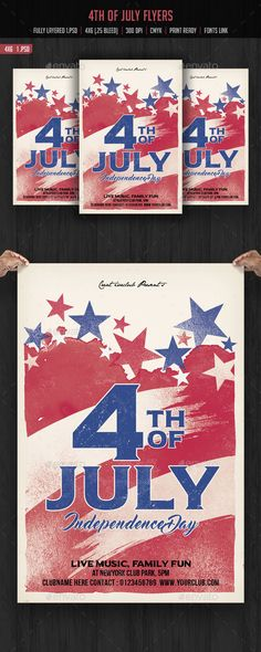 Vector Illustration Of Happy Usa Independence Day Felicitation