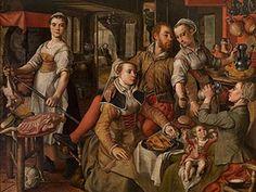 Allegory of Negligence  Joachim Beuckelaer (Antwerp ca. 1533 – 1575)