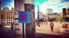 Una calco de #CalorFrio que viajó lejos: llegó a Sào Paulo, Brasil!! Gracias @aldeganiphoto!!✈