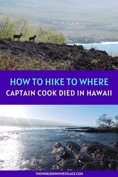 One of the must-do hikes in Hawaii is the Captain Cook Monument trail on the Big Island. This hike has epic views, and it takes you to the spot where Captain Cook was killed, as well as some of the best snorkeling in Hawaii. If you are lucky you will see the resident spinner dolphins too. Find out everything you need to know to do the Captain Cook Monument hike on the Big Island of Hawaii. | The World on my Necklace Hawaii Vacation, Hawaii Travel, Travel Usa, Travel Tips, Hawaii Usa, Travel Articles, Travel Abroad, Canada Travel, Travel Guides