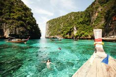 Phi phi island romantic thailand beach one of asia holidays spot