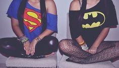 Batman And Superman Shirts ;)   $25.00 Each