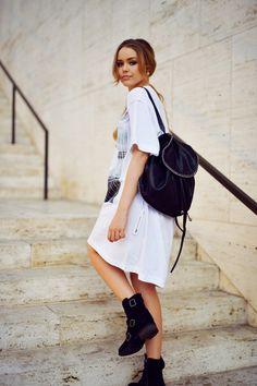 15 Maneras en las que puedes usar una mochila con estilo