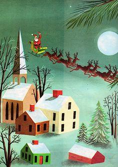 Weisgard - The Night Before Christmas