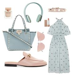 """Без названия #5"" by fatima-tepkaeva on Polyvore featuring мода, Temperley London, Gucci, Valentino, Zimmermann, So.Ya, Narciso Rodriguez и Marc Jacobs"