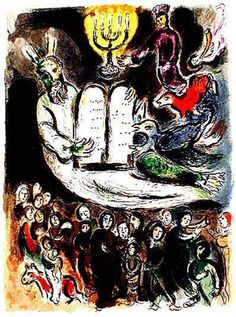 20 CHAGALL MOSES SHOWS THE ELDERS THE TABLETS