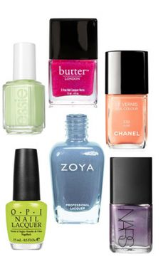Must have colors for the spring from Elle fashionista!