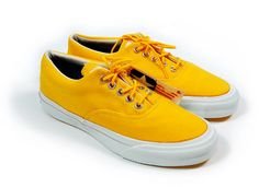 Converse Vintage Deadstock Converse Skid Grip: Sunflower Yellow