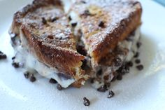 You Need to Try This Cannoli-Stuffed French Toast  Sneaking dessert into breakfast.