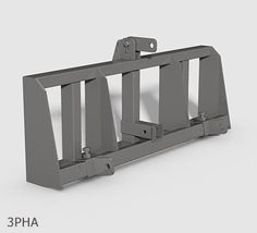 Cat 1 Sub Compact Tractor Hitch Receiver Weight Bracket