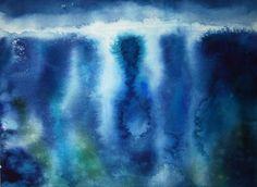 "Lilla Schuch - ""Underwater"" (watercolor)"