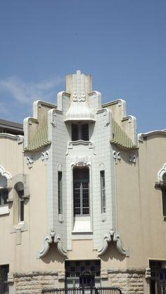 Architect Rafael Masó Valentí. 'Farinera Teixidor', 1910-1911. Santa Eugènia street, 42 GIRONA, Catalonia | Europe