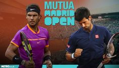 """NADAL LIKE """" FAST TRAIN """"  CRUSH DOWN DJOKOVIC FOR THE FINALS IN MADRID !"""