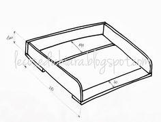 lecosedichiara: TUTORIAL Costruire una cassettiera fasciatoio riciclando
