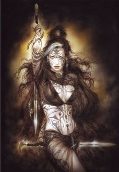 Luis Royo is one of the most established and well-known fantasy illustrators in the world. Description from ebay.com.au. I searched for this on bing.com/images