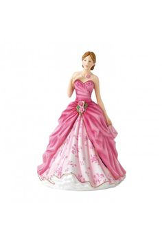 Royal Doulton 2017 Petite of the Year, Grace HN 5830 at Waterford Wedgwood Royal Doulton, Tanger Outlets, San Marcos, TX or call 1-800-203-4540 or 512-396-4025.  We ship.