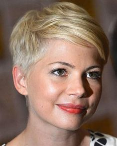 Ideas Haircut Styles For Round Face Michelle Williams – Hair Styles Short Spiky Hairstyles, Very Short Haircuts, Short Haircut Styles, Round Face Haircuts, Short Hairstyles For Women, Long Hair Styles, Pixie Haircuts, Funky Short Hair, Super Short Hair