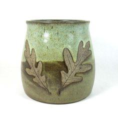 Stoneware Pottery Utensil Holder / Vase / by CrookedCreekStudio1