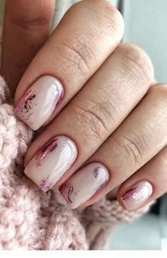 The Most Easy and Beautiful Colors Nail Art Designs for Summer - Page 19 of 20 :   #Most #Easy #Beautiful Nail Art Designs, Winter Nail Designs, Nails Design, Bridal Nails, Wedding Nails, Wedding Bride, Winter Nails, Summer Nails, Elegant Nail Art