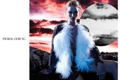 Rosie Huntington-Whiteley Is in a Lunar Landscape for Prabal Gurung Campaign