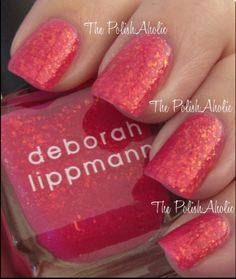 Deborah Lippmann finger nail polish