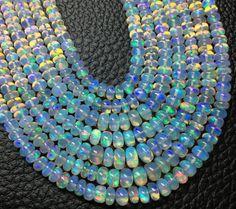 15 Inch Long AAA Quality ETHIOPIAN Opal Smooth by Raregemstone