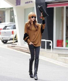 Fashion-Women-Batwing-Sleeve-Loose-Long-T-Shirt-Casual-Oversized-Tops-Tee-Blouse
