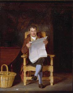 "Thomas Sword Good 1827 ""A Man Reading"""