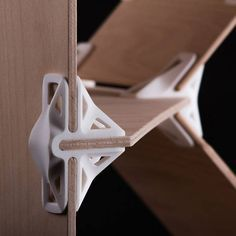 Versatile, downloadable 3D printed joints for customized DIY furniture3-D PRINTING More Pins Like This At FOSTERGINGER @ Pinterest
