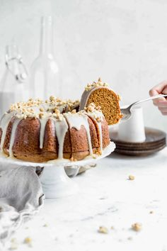 Sweet Potato Bundt Cake with Maple Icing - Broma Bakery Cupcakes, Cupcake Cakes, Bundt Cakes, Broma Bakery, Cake Recipes, Dessert Recipes, Breakfast Recipes, Muffins, Cheesecake