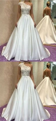 Gorgeous One Shoulder Long Ivory Prom Dress, Elegant Formal Evening Gown ,Ivory Prom Gown on Luulla Ivory Prom Dresses, Prom Dresses With Sleeves, Mermaid Evening Dresses, Homecoming Dresses, Evening Gowns, Wedding Dresses, Ivory Wedding, Ivory Formal Dress, Luulla Dresses