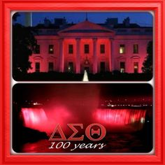 We're turning these landmarks RED!!!