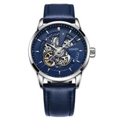 [EBay] Oubaoer Original Men Watch Top Luxury Automatic Mechanical Watch Leather Military Watches Clock Men Relojes Masculino