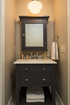 Bathroom Vanity - farmhouse - Bathroom - Minneapolis - Hendel Homes