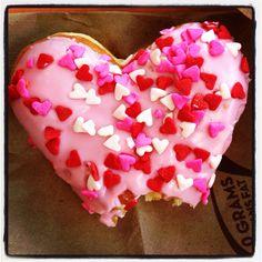 Want a bite? Cupid's Choice donut.