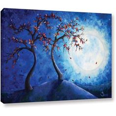 ArtWall Shiela Gosselin Into The Light Gallery-Wrapped Canvas, Size: 24 x 32, White