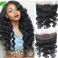 Ear To Ear Lace Frontal Closure Brazilian Body Wave Frontal 13x4/13x2 Lace…