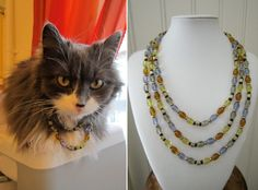 Glass bead necklaces Bead Necklaces, Jewerly, Glass Beads, Helmet, Chain, Design, Jewelry, Jewels, Jewlery