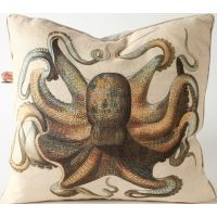 Octopus Euro Pillow