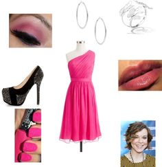 """""""Kaitlyn's Graduation Dress"""" by love2act947 ❤ liked on Polyvore"""