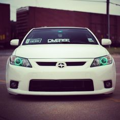 Sick with green conversion and — at Court Liquor Mart. My Dream Car, Dream Cars, Liquor Mart, Scion Tc, My Ride, Slammed, Car Show, Cars Motorcycles, Sick