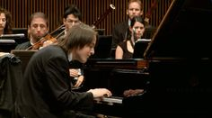 Daniil Trifonov plays Wolfgang Amadeus Mozart's Piano Concerto No. 23 in A major (K. 488) at the Arthur Rubinstein Piano Master Competition in Tel Aviv.