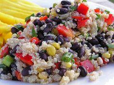 Quiona black bean Salad whole foods copy