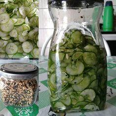 Receita de Sunomono (conserva de pepino agridoce)