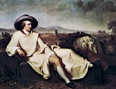 """Goethe in the Campagna"""