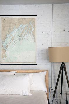 Misschien niet verder zoeken naar wat artwork voor in de slaapkamer.. Landkaarten ftw!