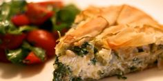 Feuilleté de phyllo au saumon et kale — Roxanne Cuisine