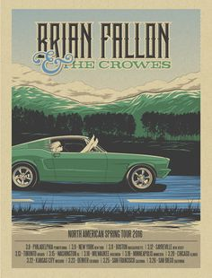 Brian Fallon & The Crowes - Ernie Parada - 2016 ----