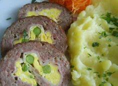 Nejlepší recepty na slané rolády | NejRecept.cz No Salt Recipes, Cooking Recipes, Czech Recipes, Ethnic Recipes, Mince Meat, Main Meals, Meatloaf, Kefir, Mashed Potatoes