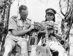 Pilots of a South African Air Force bomber squadron stationed in East Africa make friends with two baby cheetahs, recently adopted as squadron mascots. Air Force Bomber, South African Air Force, Baby Cheetahs, War Image, Ww2 Planes, Nose Art, East Africa, World War Ii, Animal Rescue